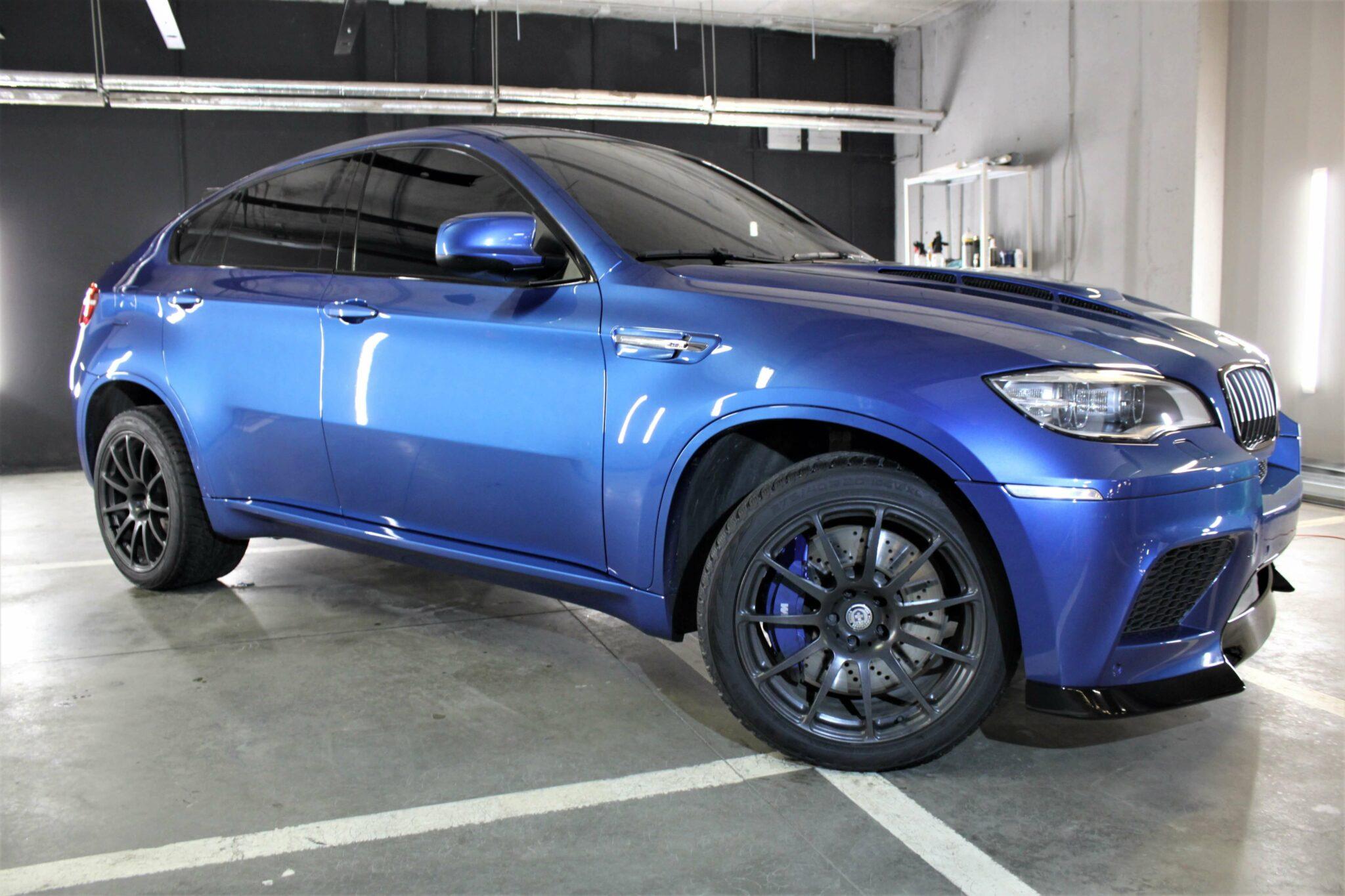Полировка и покрытие Сeramic Pro 9H на BMW X6M