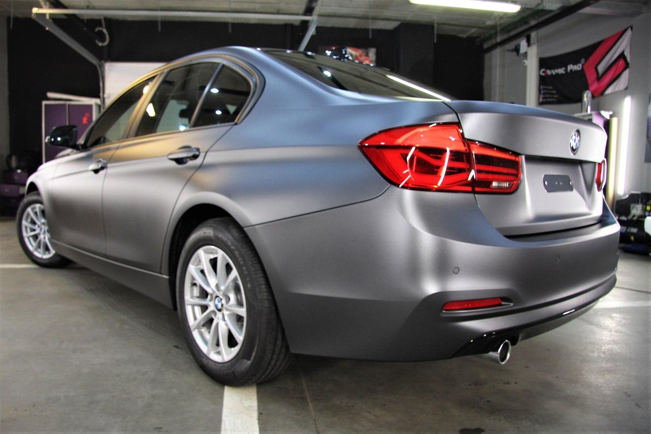 Оклейка кузова матовой пленкой, тонировка, покрытие керамикой BMW 5