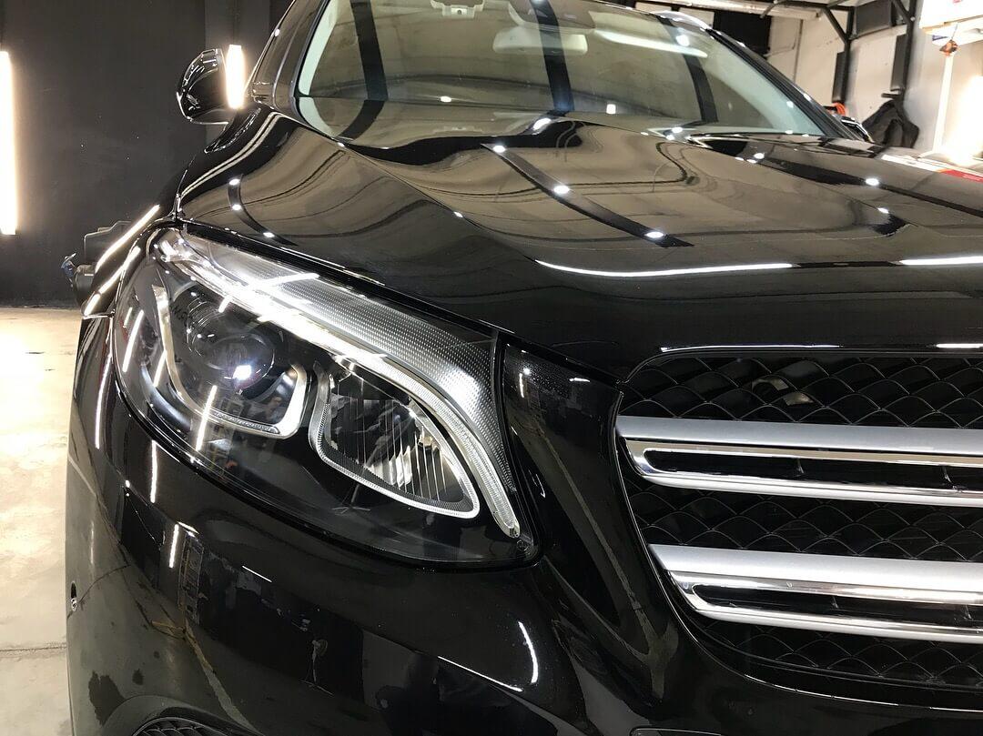 Оклейка антигравийной пленкой, тонировка и керамика для Mercedes Benz GLC