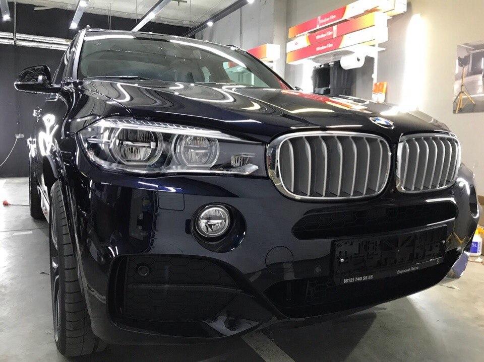 BMW X5M Керамическое покрытие Ceramic Pro