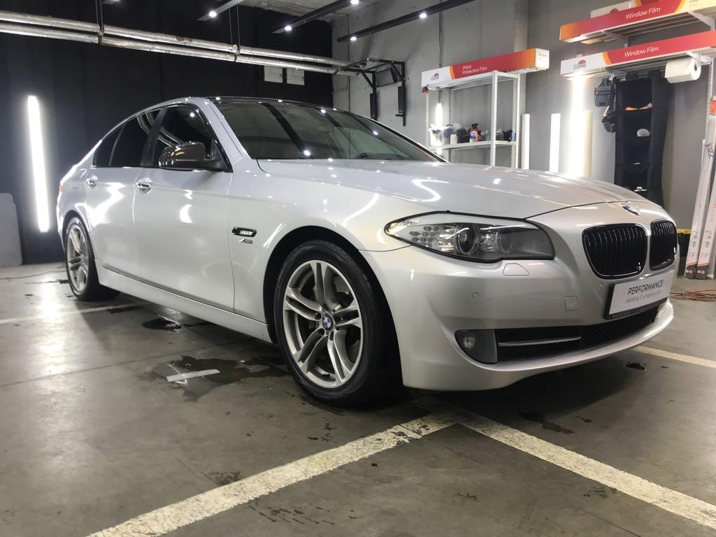 BMW f10 полный Антихром+ карбон Sott