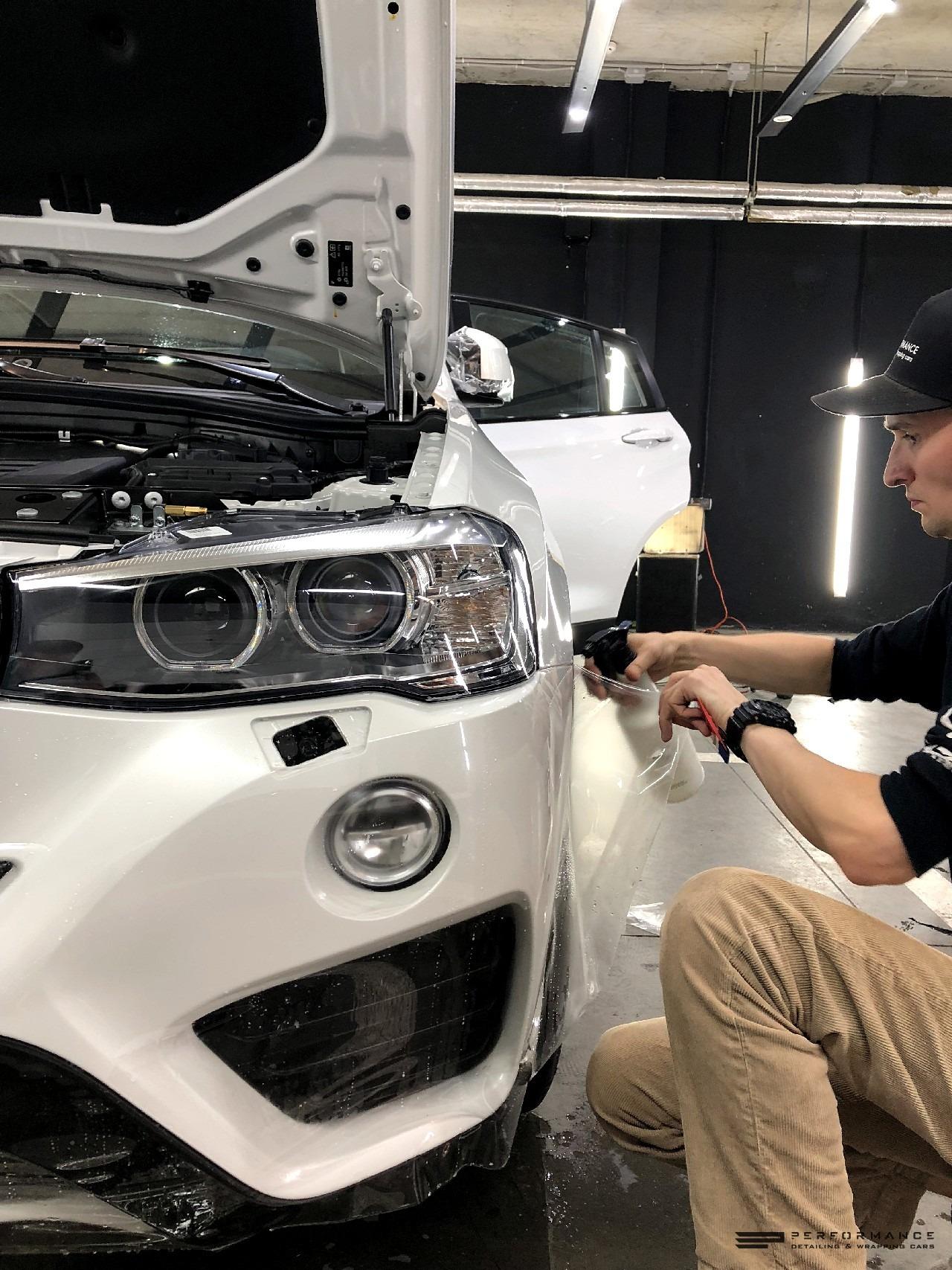 Антихром и защита на BMW X4