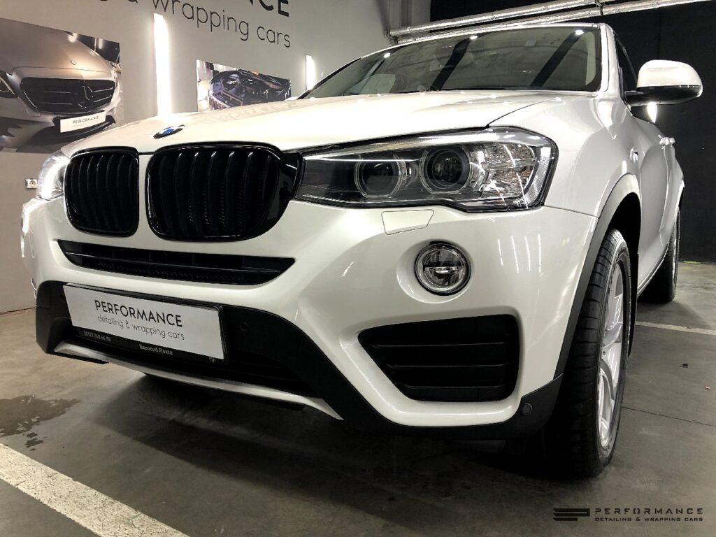 Фото Антихром и защита на BMW X4