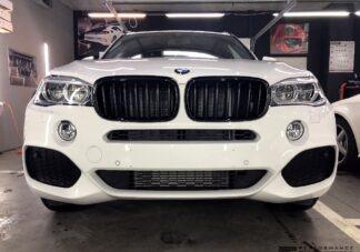 Фото Антихром на решетку BMW X5