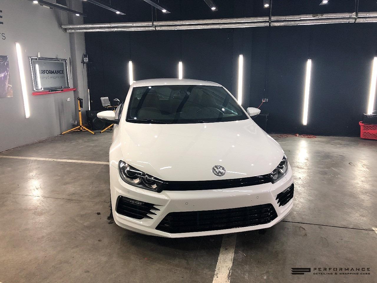 Фото Полировка и воск на Volkswagen Scirocco