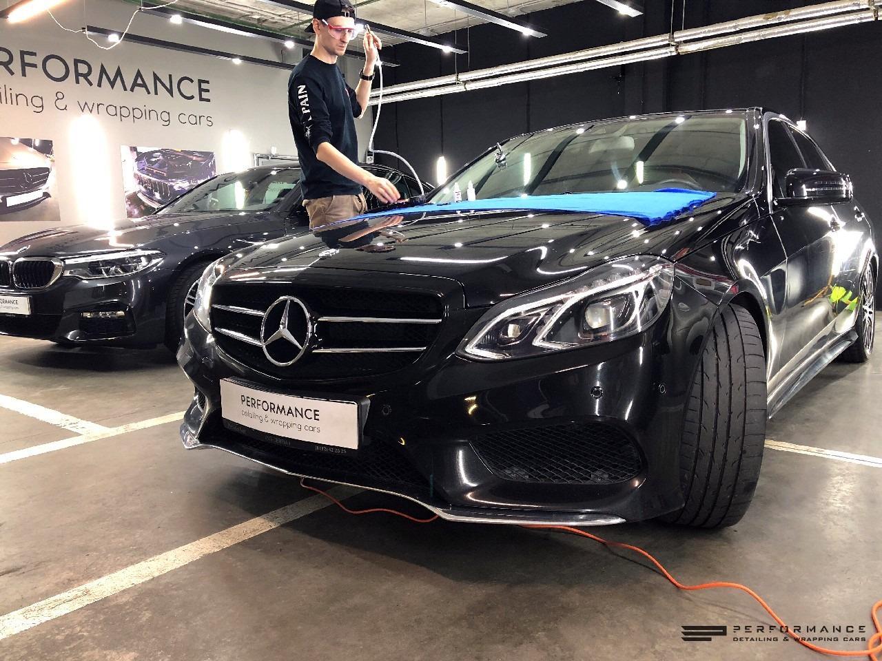 Ремонт лобового и защита дисков для Mercedes-Benz E Class