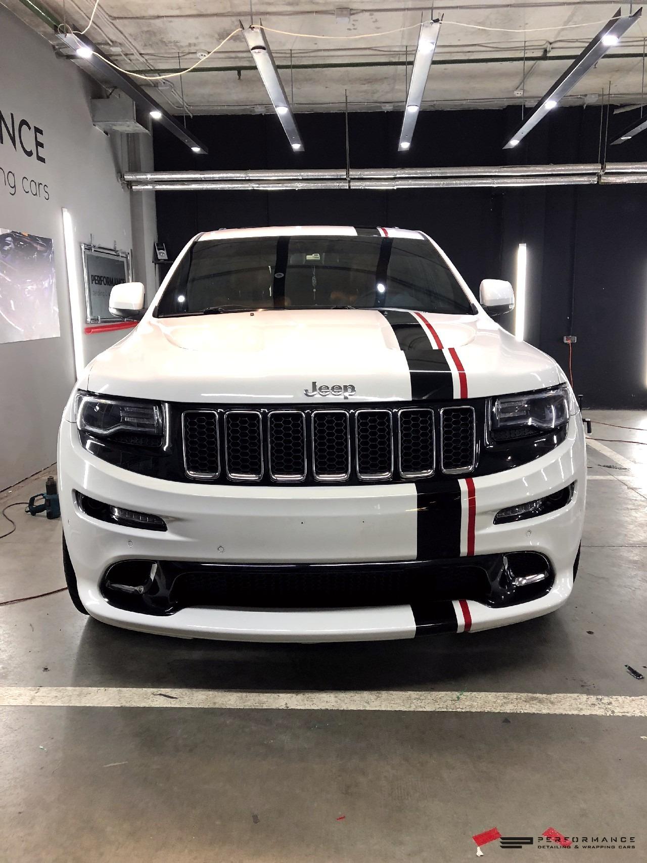 Оклейка виниловой пленкой Jeep Grand Cherokee STR