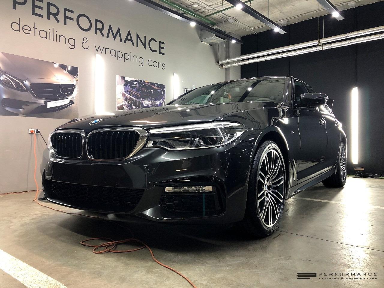 Нанесение керамики на кузов BMW 5