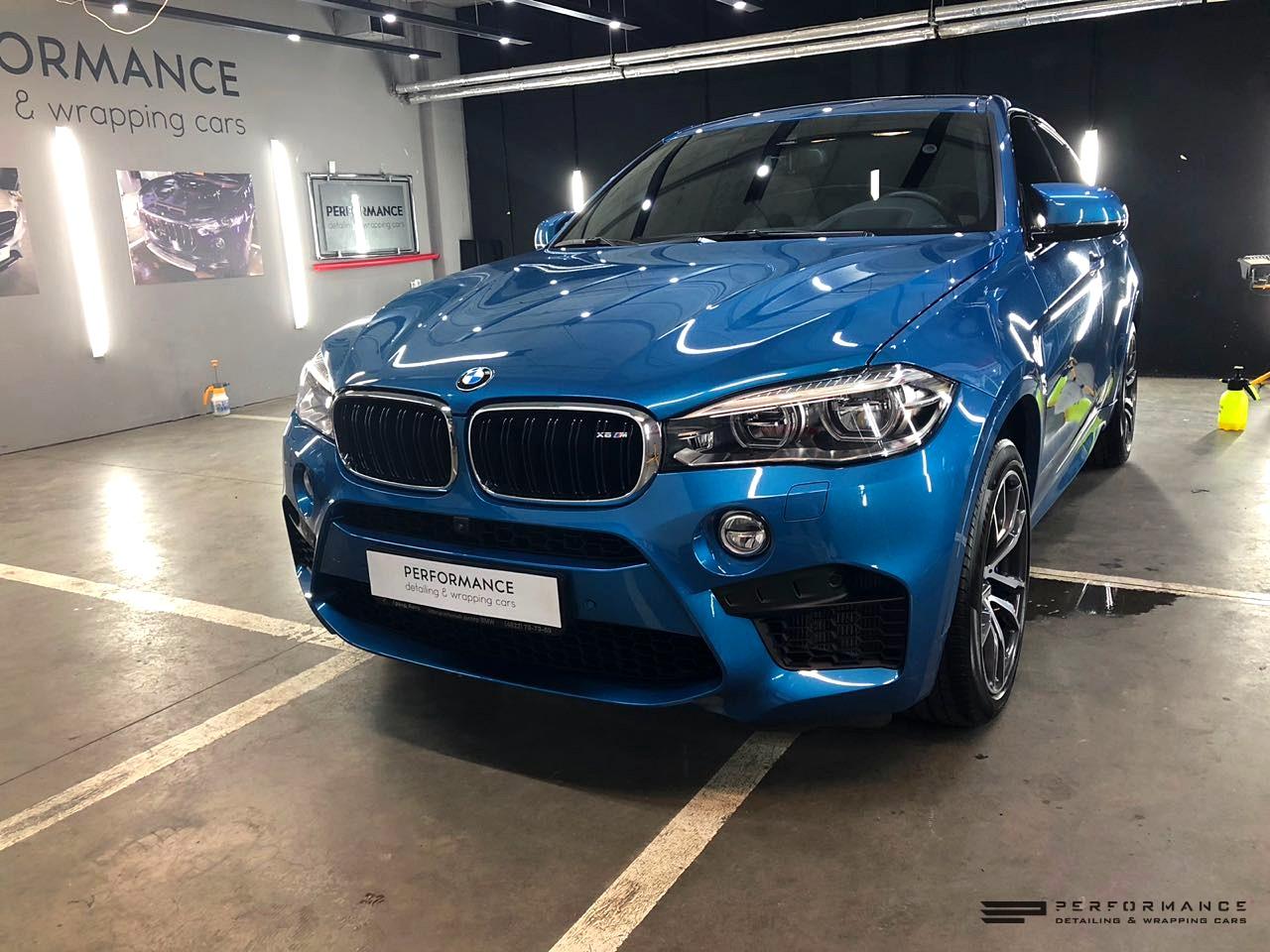 Защита кузова BMW X6M пленкой Llumar PPF и тонировка стекол пленкой Llumar ATR