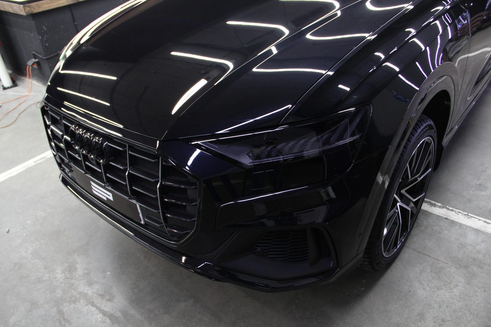 Оклейка кузова автомобиля Audi Q8