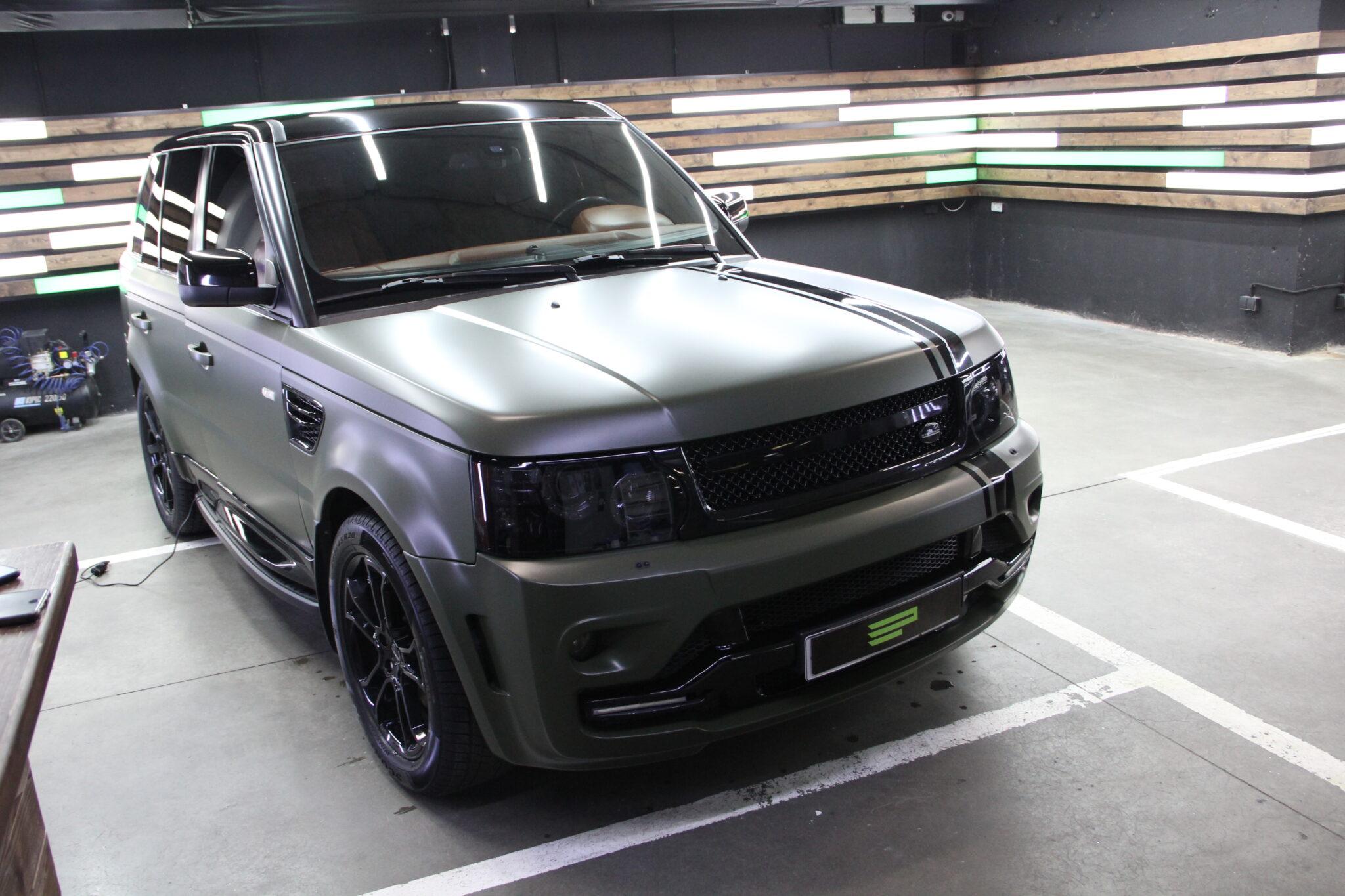 Оклейка пленкой Range Rover
