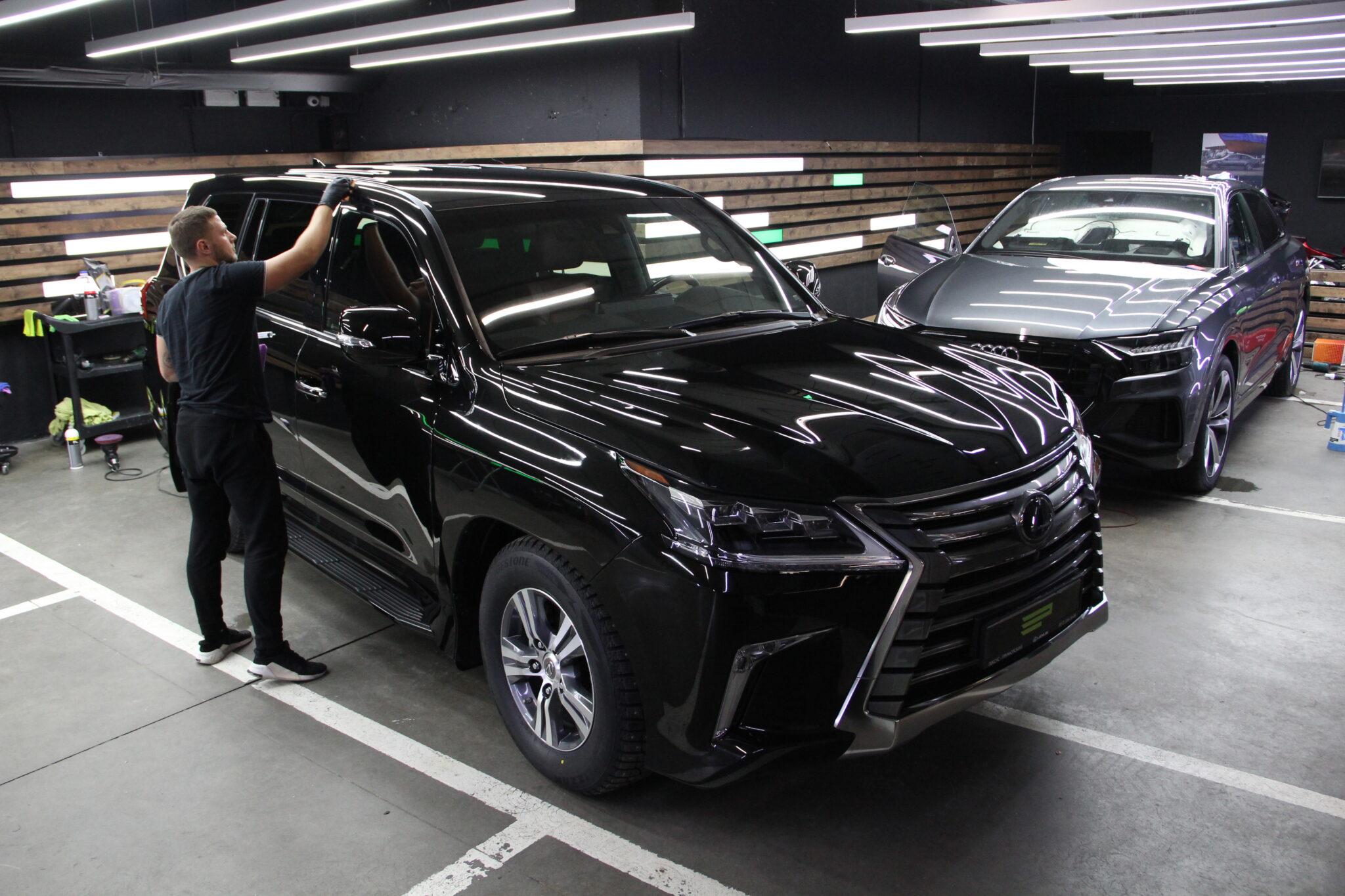 Покрытие кузова керамикой Lexus LX