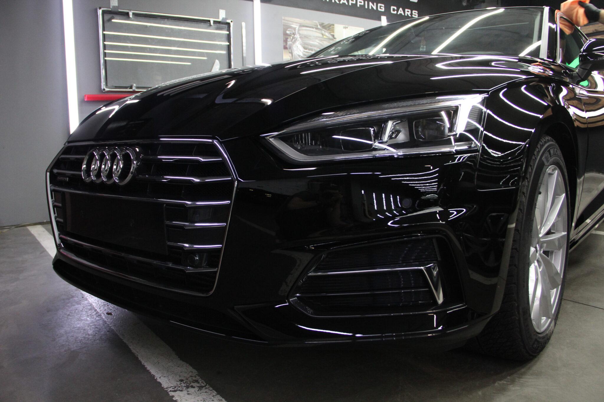 Покрытие кузова керамикой Audi A5