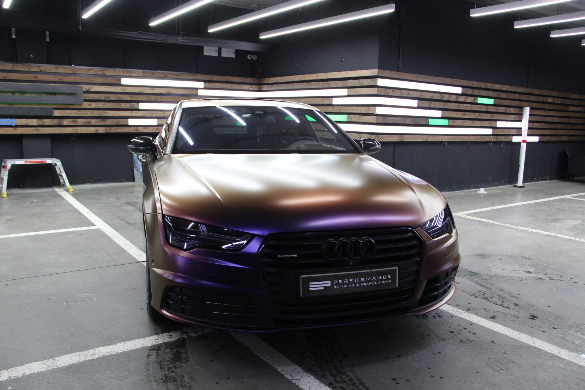 Оклейка автовинилом кузова Audi A7