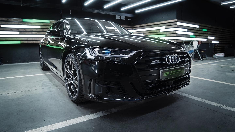 Оклейка кузова Audi A8