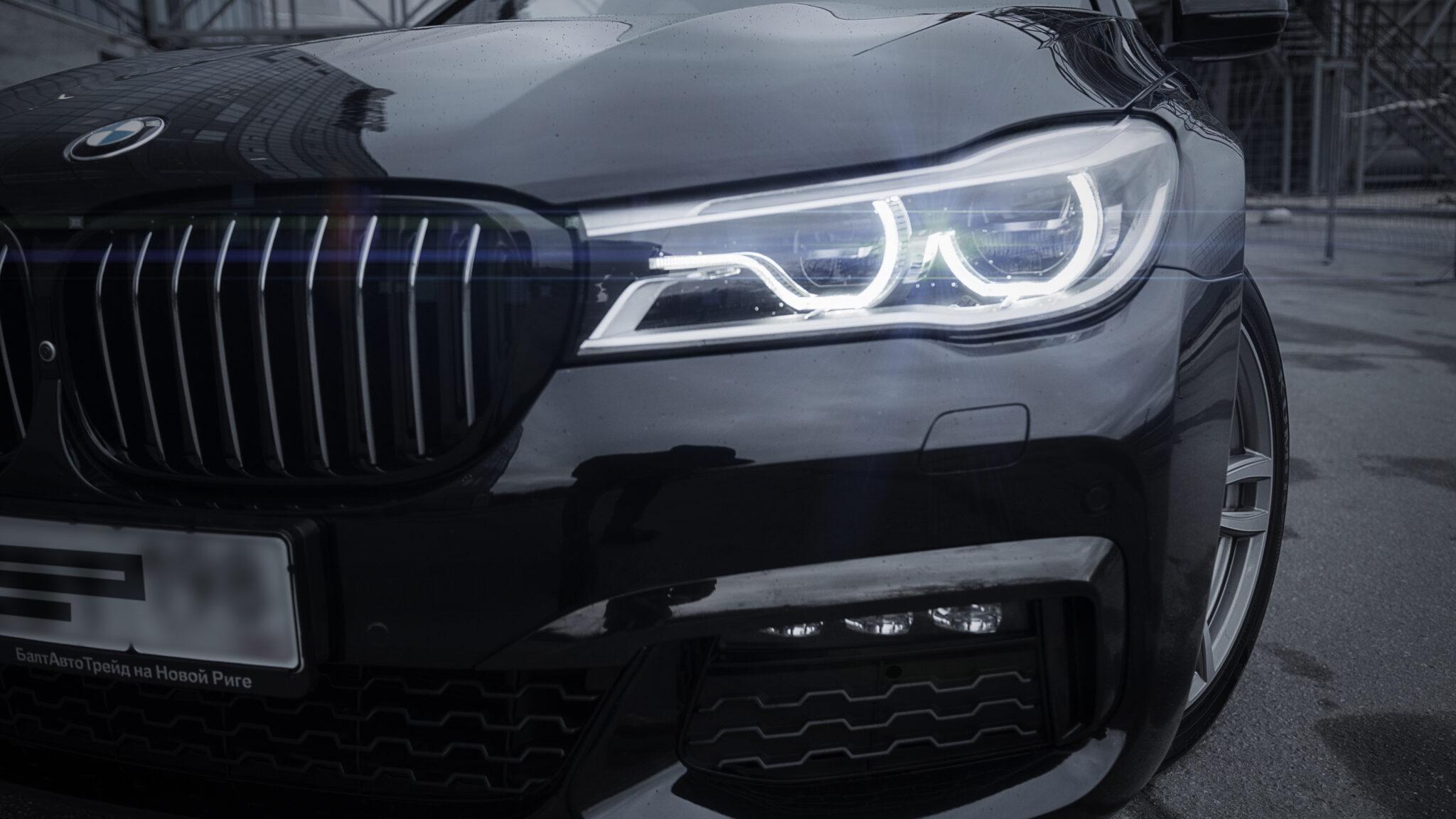 Оклейка кузова BMW 7 защитной пленкой