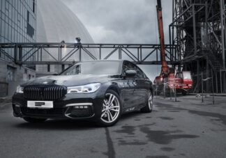 Оклейка защитной пленкой и тонировка BMW 7